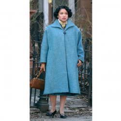 Motherless Brooklyn Gugu Mbatha Raw Coat