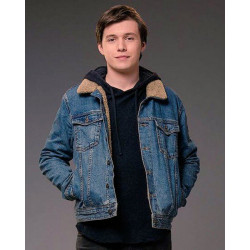 Nick Robinson Love Simon Denim Jacket