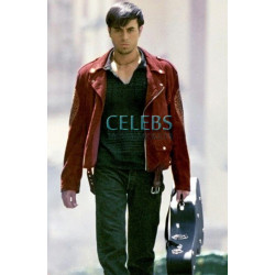 Once Upon A Time In Mexico Enrique Iglesias Red Jacket