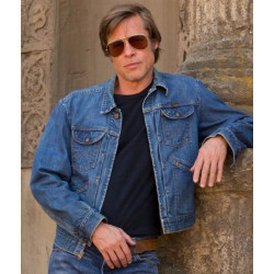 Brad Pitt Once Upon A Time in Hollywood Cliff Booth Jacket