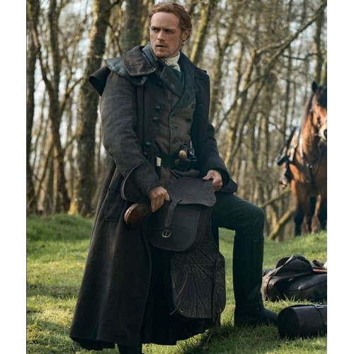 Outlander S05 Jamie Fraser Trench Coat