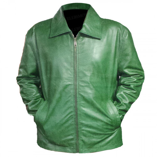 Pain and Glory Antonio Banderas Green Coat