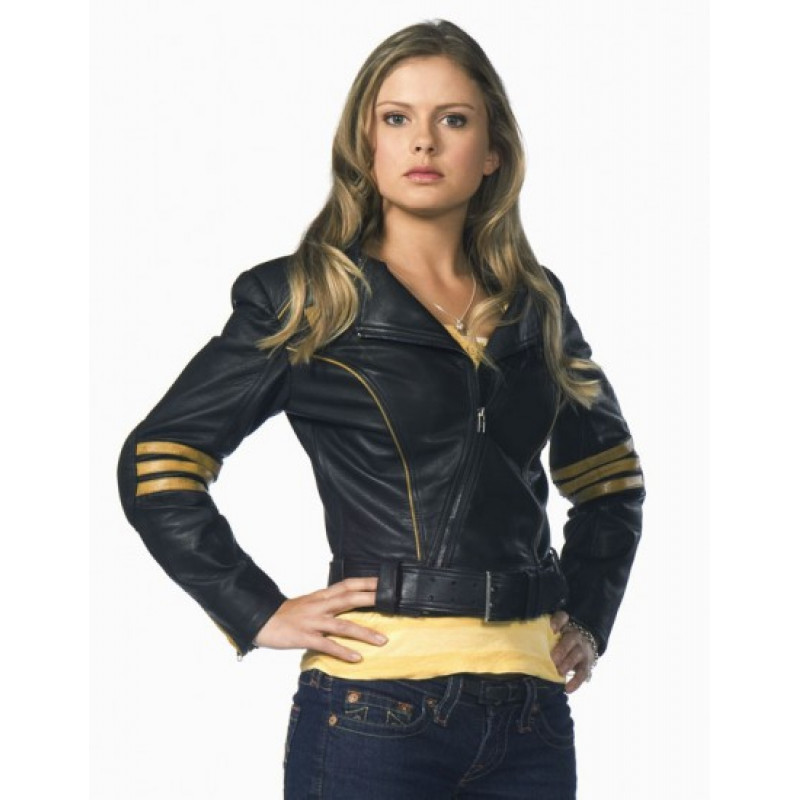 Rose Mciver Leather Jacket From Power Rangers RPM ...