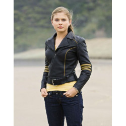 Rose Mciver Leather Jacket From Power Rangers RPM