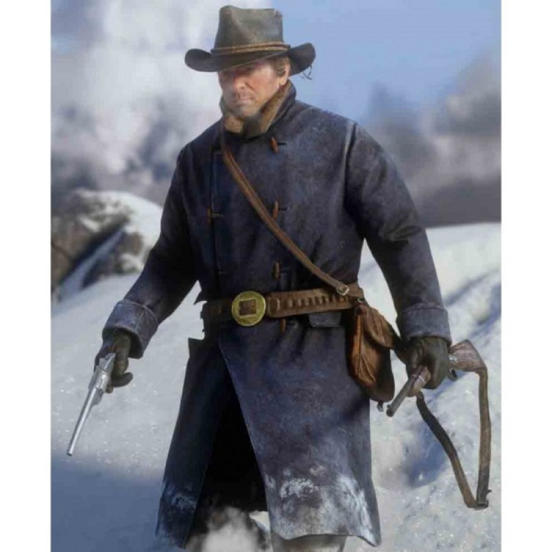 Red Dead Redemption 2 Arthur Morgan Blue Coat Celebs