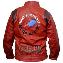 Red Kaneda Akira Leather Jacket