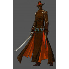 Red Steel 2 Swordsman Last Kusagari Cosplay Costume Jacket