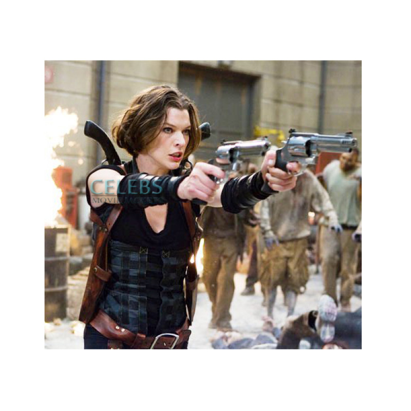 Resident Evil Afterlife Alice Milla Jovovich Vest Film Star