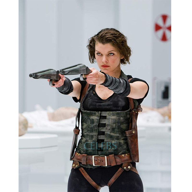 Resident Evil Afterlife Alice Milla Jovovich Vest Film Star Outfits