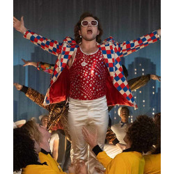 Rocketman Elton John Checked Blazer