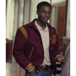 Sex Education Jackson Marchetti Varsity Jacket