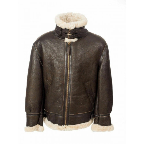 Men's B3 Aviator Shearling Leather Jacket
