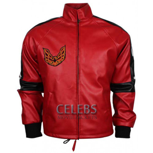 Smokey and the Bandit Burt Reynolds Red Bomber Jacket