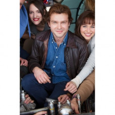 Solo A Star Wars Story Alden Ehrenreich Brown Jacket