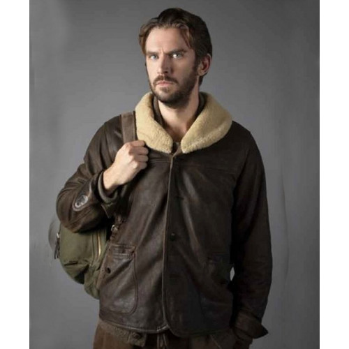 Solos Otto Jacket with Shearling Collar