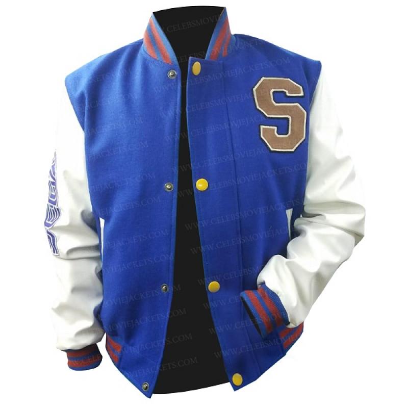 Sonic The Hedgehog Jacket Varsity Blue Jacket Celebs Movie Jackets