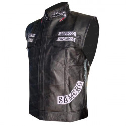 Sons Of Anarchy Jax Teller Biker Vest