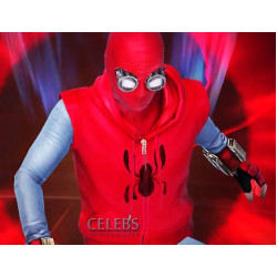 Spider-man Homecoming Red Hoodie