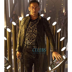 Star Trek Discovery Jason Isaac Leather Trench Coat