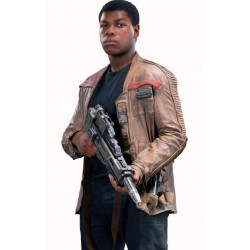Star Wars Finn Poe Dameron Leather Jacket