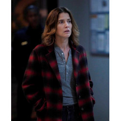 Stumptown Cobie Smulders Plaid Coat