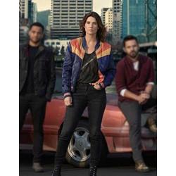 Cobie Smulders Stumptown Jacket