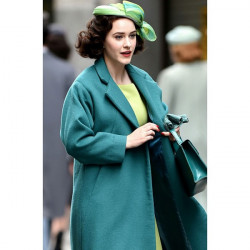 Miriam Maisel The Marvelous Mrs. Maisel Sea Green Coat