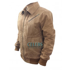 Amazing Tan Leather Jacket