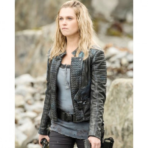 The 100 Clarke Griffin Leather Jacket
