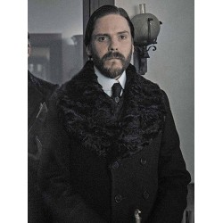 The Alienist Daniel Brühl Fur Trench Coat