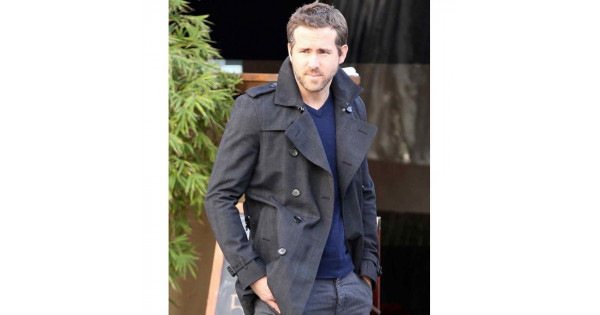 9bda1fdd9 The Captive Movie Ryan Reynolds Double Breasted Jacket