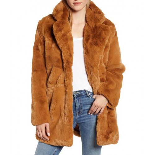 The Equalizer 2021 Melody Chu Fur Coat
