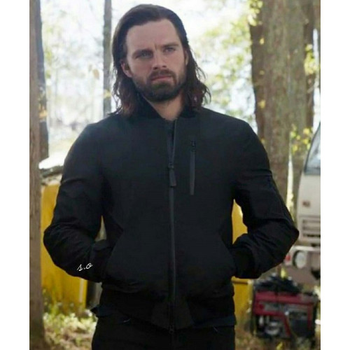 The Falcon and the Winter Soldier Bucky Barnes Bomber Jacket