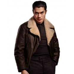 The Gentlemen Henry Golding Leather Jacket