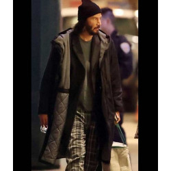 The Matrix 4 Keanu Reeves Hooded Coat