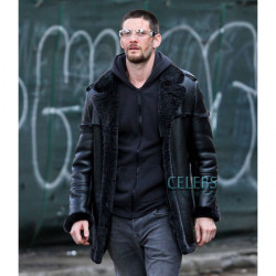 The Punisher Season 2 Ben Barnes Shearling Leather Jacket