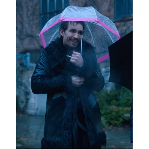 The Umbrella Academy Klaus Hargreeves Fur Coat