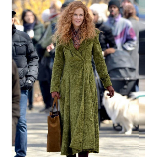 Grace Sachs The Undoing Nicole Kidman Green Coat