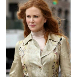 The Undoing Nicole Kidman Floral Coat