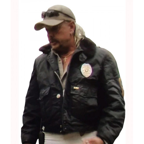 Tiger King Joe Exotic Ems Bomber Jacket