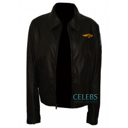 Top Gun Kelly McGillis (Charlie) Leather Jacket