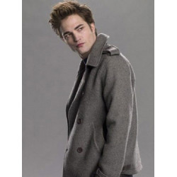 Twilight Edward Cullen Grey Wool Jacket