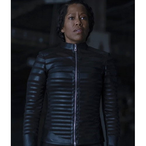 Watchmen Finale Angela Abar Black Jacket