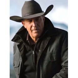 Yellowstone S02 Kevin Costner Green Jacket