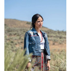 Yellowstone S03 Monica Dutton Denim Jacket