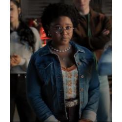 Beth Chapel Stargirl S02 Blue Denim Jacket
