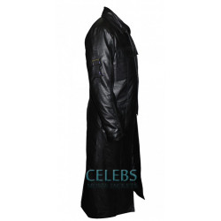 The Punisher Frank Castle Leather Trench Coat