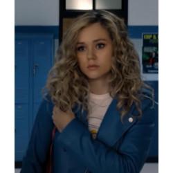 Stargirl Courtney Whitmore S02 Blue Biker Jacket