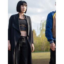 Shang-Chi Xialing Black Long Coat
